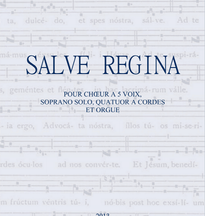 Salve Regina de Christopher Gibert