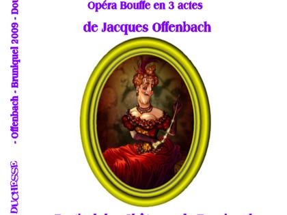 Double DVD - 2009 La Grande Duchesse de Gerolstein