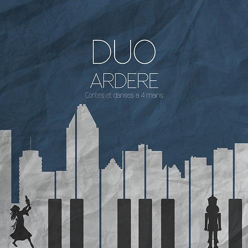 Contes et danses à 4 mains - Duo Ardere (Florent Féral - Julien Gaudinière)