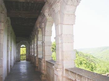 Balcon du Château du Bruniquel