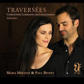 """CD""""Traversées"""" Christophe Loiseleur des Longchamps"""