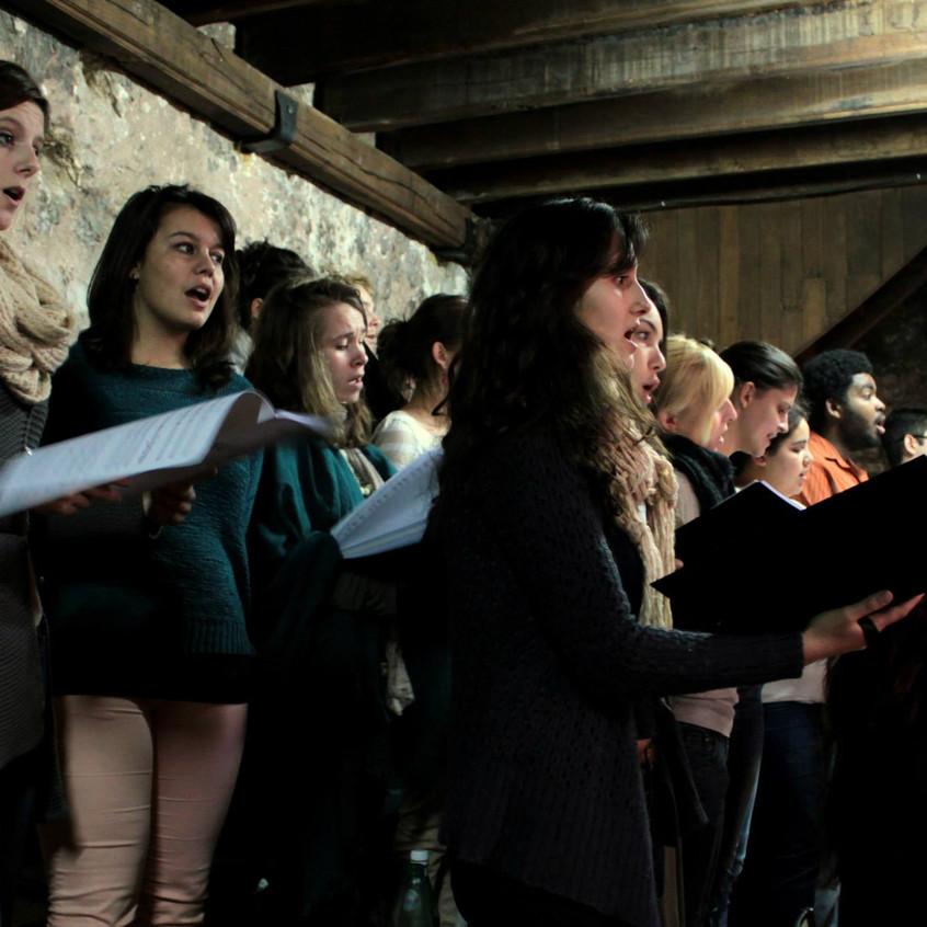Répétition : Ensemble Dulci Jubilo