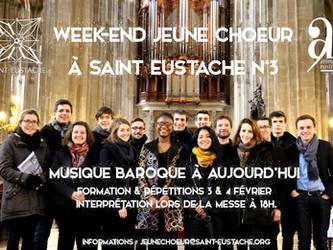Week-end Jeune Chœur sur la Musique Baroque