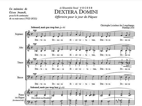 Dextera Domini de Christophe Loiseleur des Longchamps