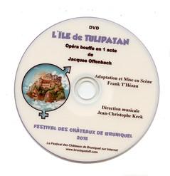 DVD simple - 2015 L'Île de Tulipatan