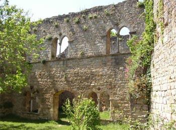Salle des Chevaliers à Bruniquel