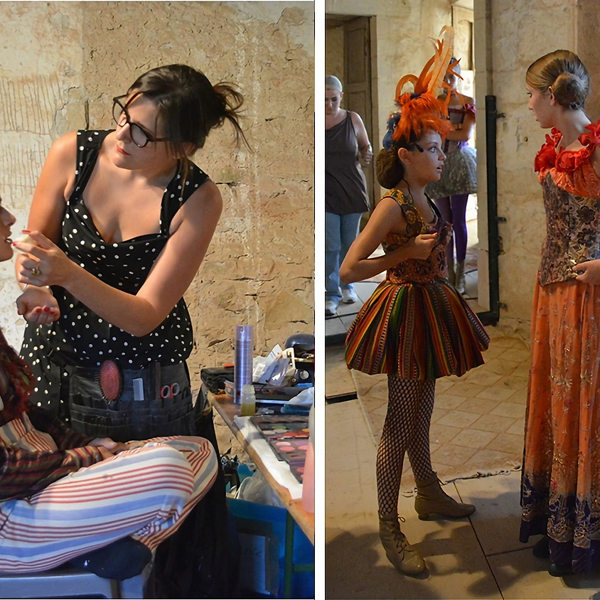 Stage Costumes/Maquillage/Coiffure – Stage