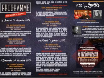 Une programmation ambitieuse pour les fêtes à Cajarc