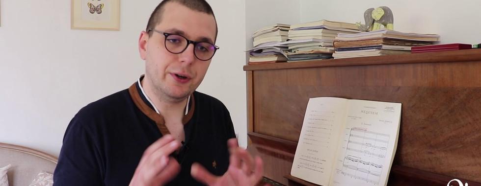 #1jour1oeuvre : Requiem de Duruflé expliqué par Christopher Gibert