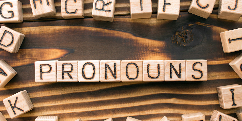 Gender Neutral Pronouns – Building Your Confidence - Chloe Foster