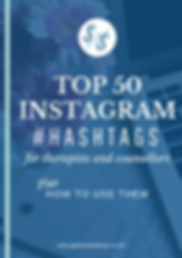 TOP 50 INSTAGRAM #HASHTAGS for therapist