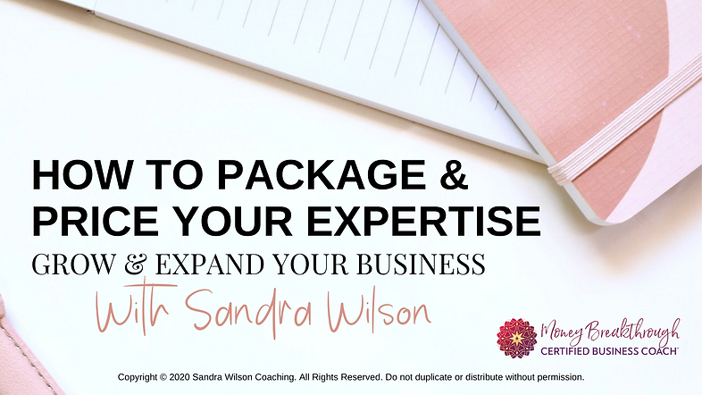 LATEST HOW TO PACKAGE & PRICE YOUR EXPER