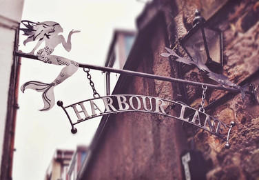Sign created for Harbour Lane Studio