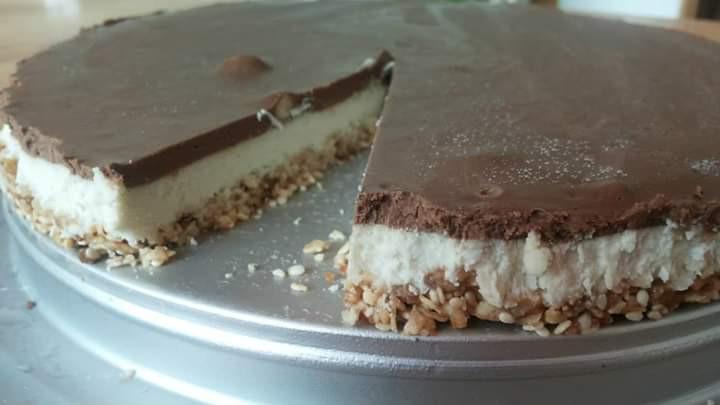 עוגת קרם קוקוס