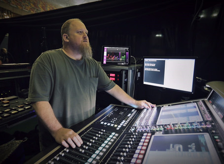 """FOH Engineer Mike Fanuele and Monitor Engineer Kevin """"Tater"""" McCarthy Choose Waves Plugins and Sound"""