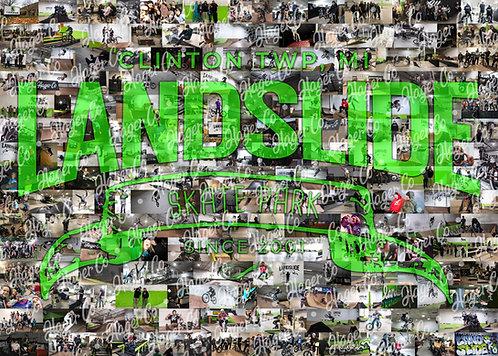 Landslide Collage Poster