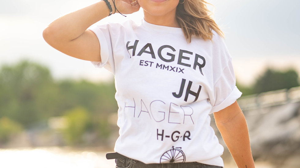 HAGER Scattered T-Shirt WT