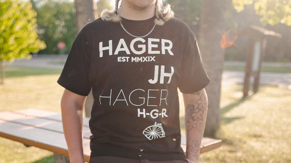 HAGER Scattered T-Shirt BK