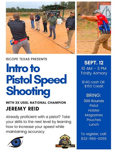 Pistol Speed Shooting Flyer Sept 2020.pn