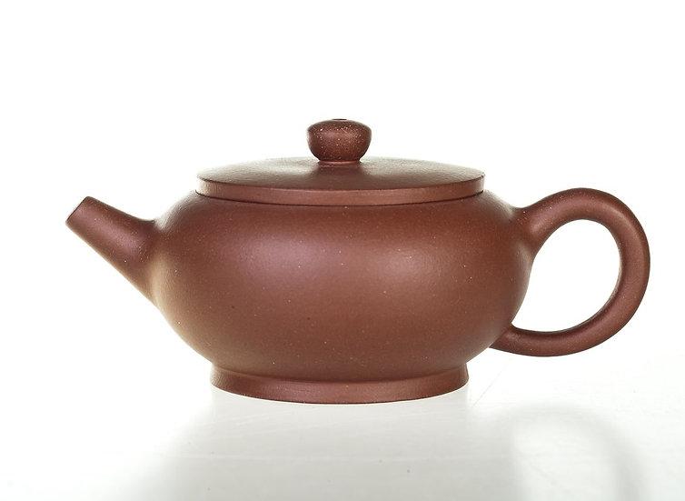 Глиняный чайник коричневый
