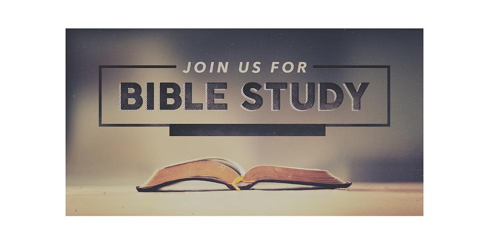 Bible Study - Wednesday, December 16, 2020 @ 7:30pm