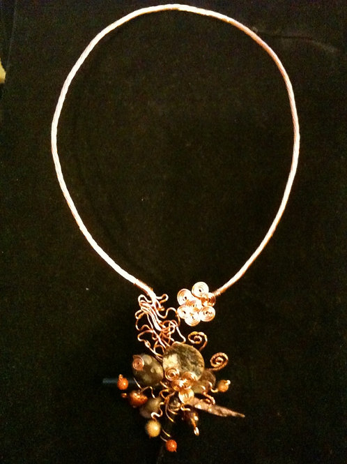 Copper Necklace - Cod. N-076