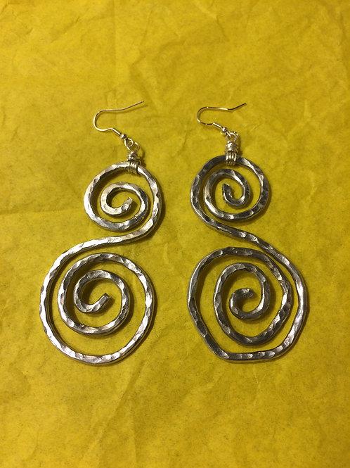 Aluminum Earrings - Cod. 504