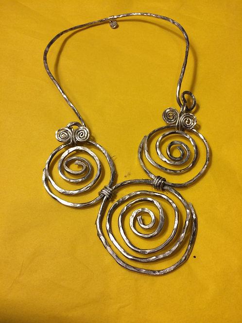 Aluminum Necklace - Cod. 102