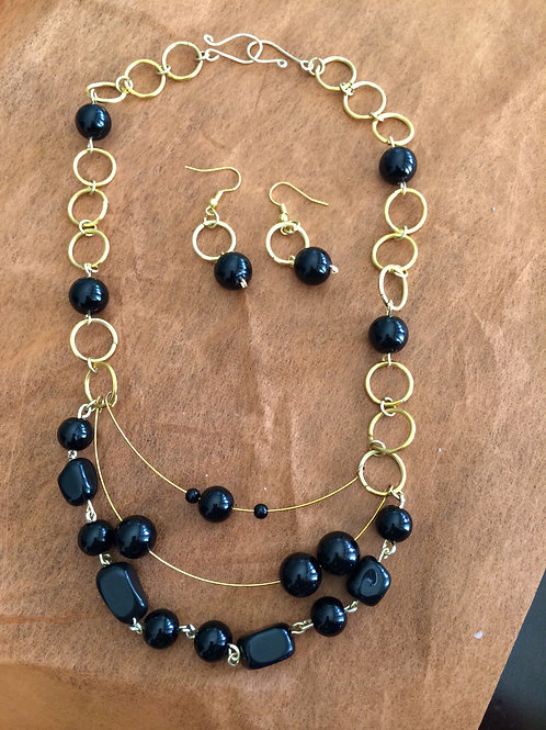 Chains with natural stones - Cod.410