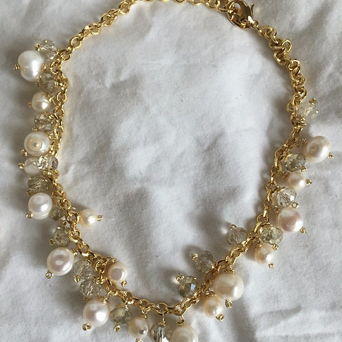 18K Gold Plated Chain Necklace - Cod. N-106
