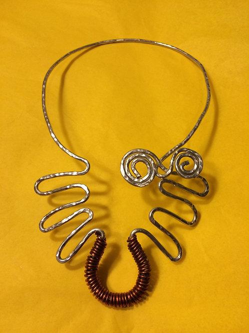 Aluminum Necklace - Cod. N-105