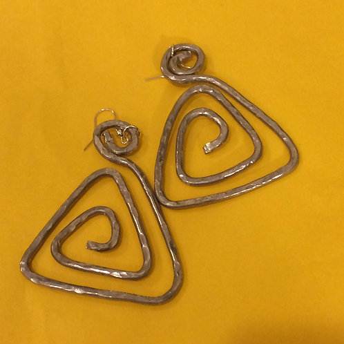 Aluminum Earrings - Cod. 508
