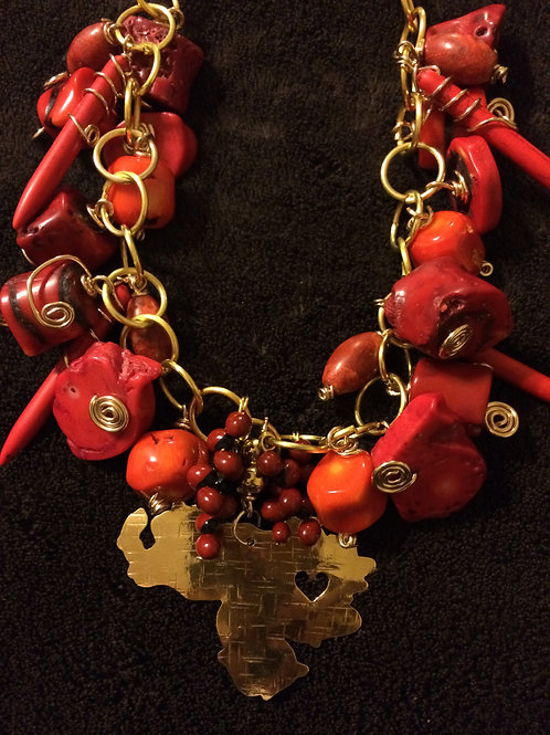 Chains with natural stones - Cod.403