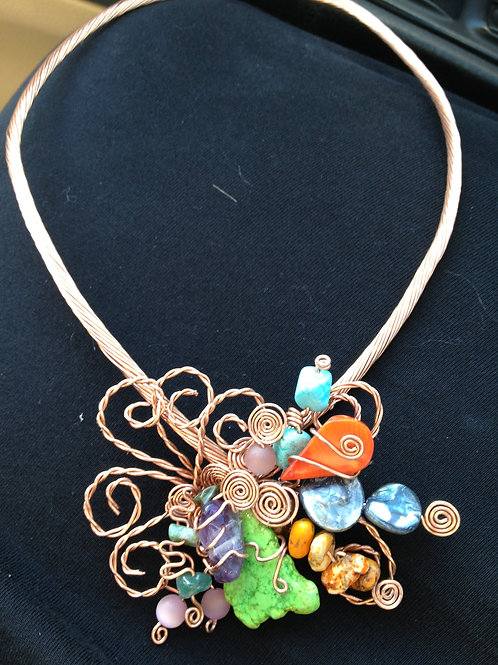 Copper Necklace - Cod. N-077