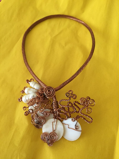 Copper Necklace - Cod. N-305