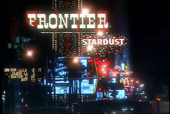 Wordslingers - vegas frontier sign