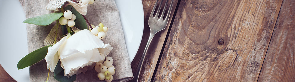 Table setting Vintage