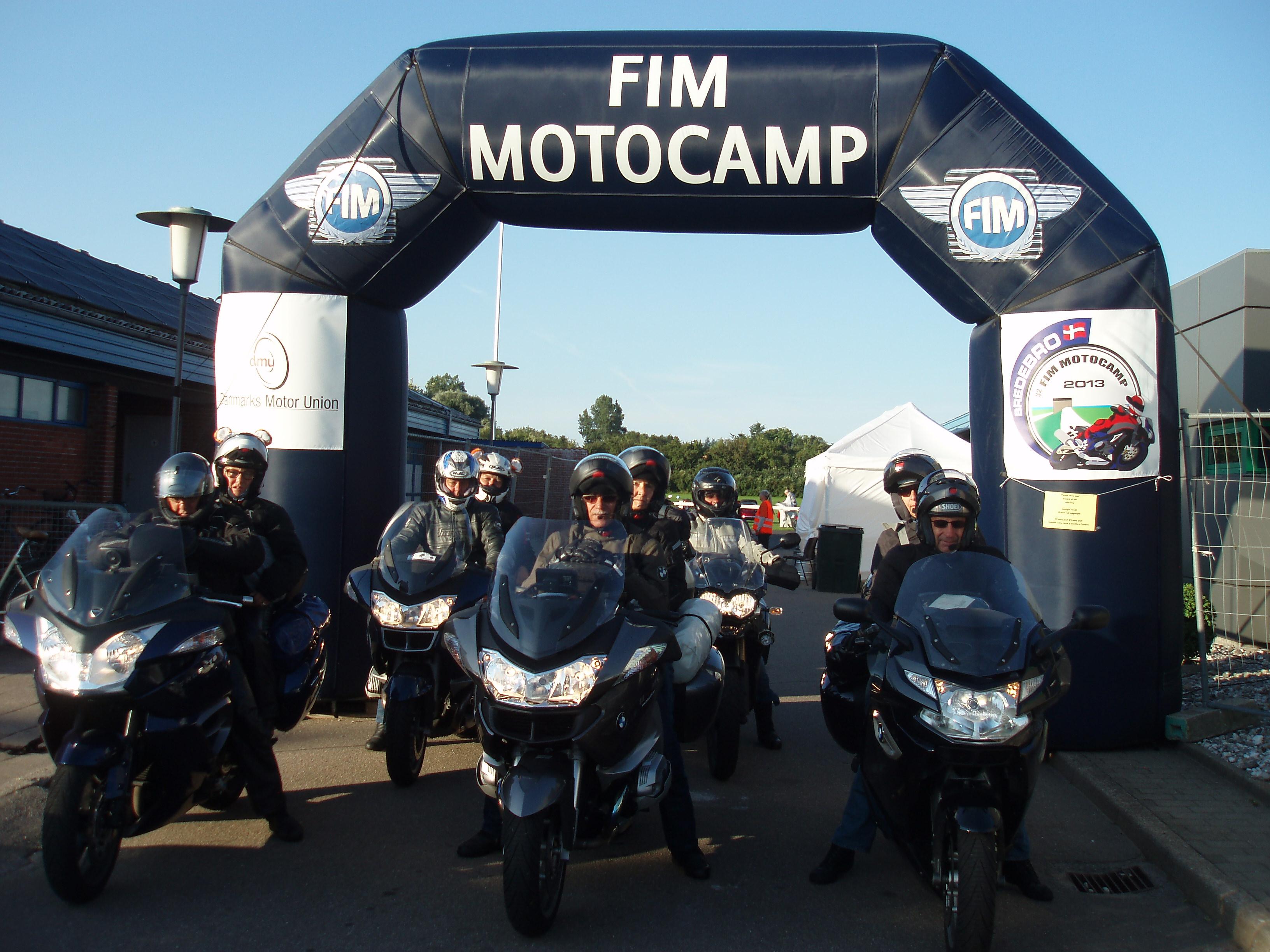 Le club au MOTOCAMP 2014