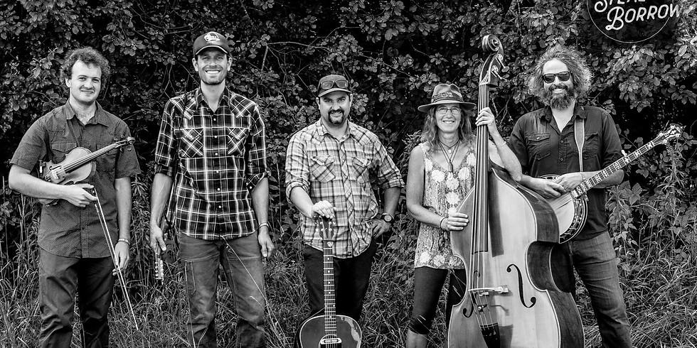 Golden Jamboree - a birthday benefit bluegrass bash featuring - Beg, Steal or Borrow