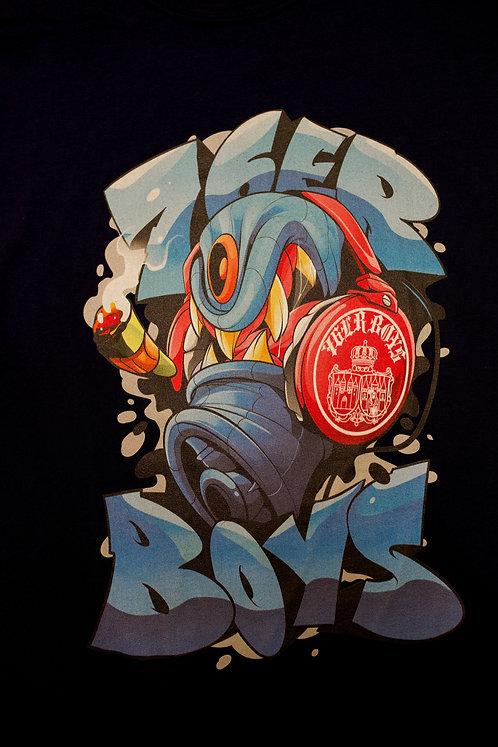 76ER X SWODSHIT CAP Shirt navy blue