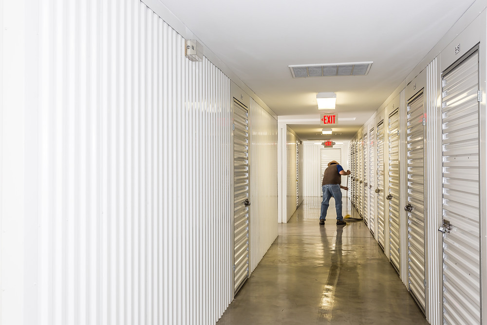 self storage, clean storage units, storage near me