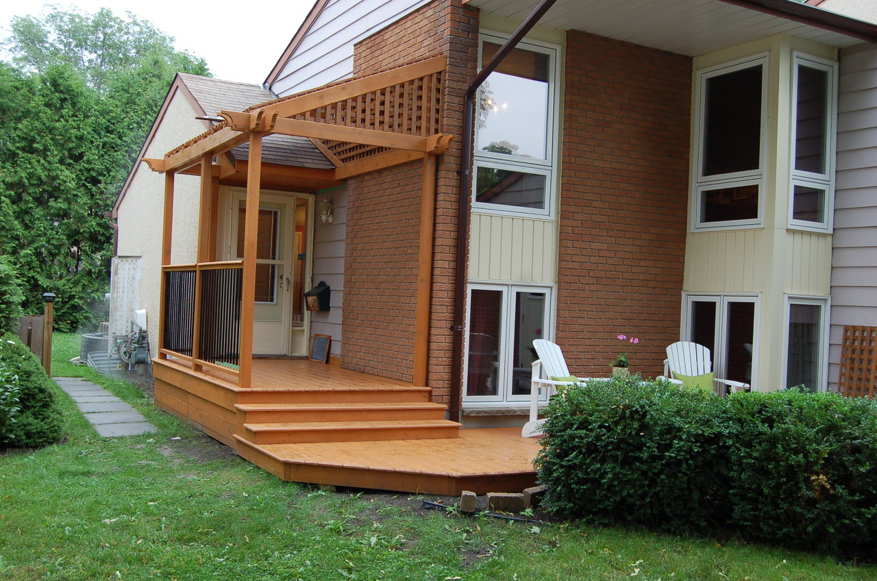 Front Porch with Lexan Cover