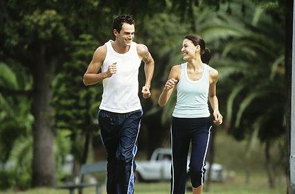 running after massage