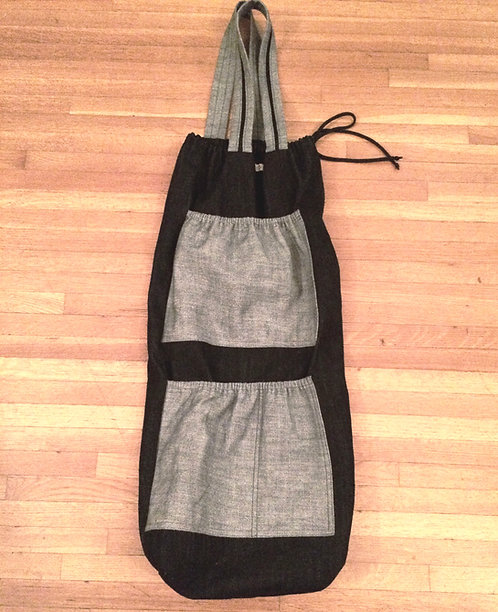 Denim Yogi Bag