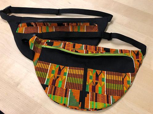 African Print Mega Fanny Pack