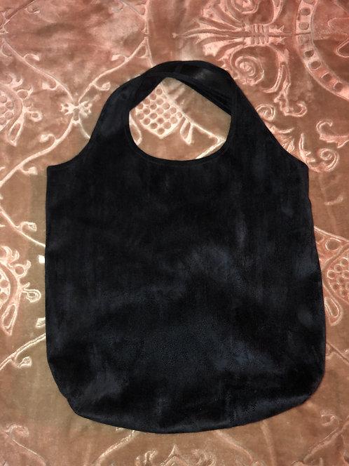 Vegan Leather / Suede Hobo