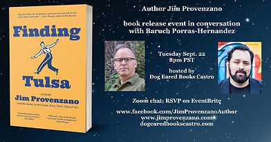 Finding Tulsa book event Sept 22- Dog Ea