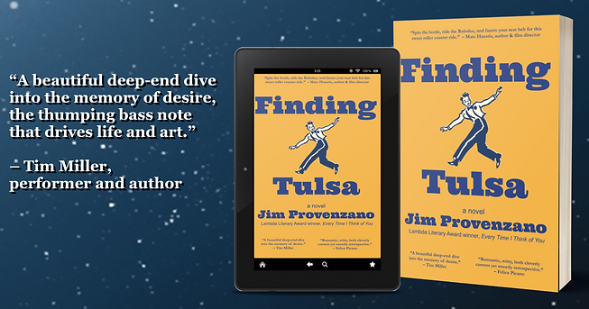 Finding Tulsa - Jim Provenzano ebook pap