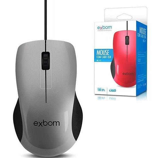 Mouse Usb 3D 1000 DPI (Exbom)