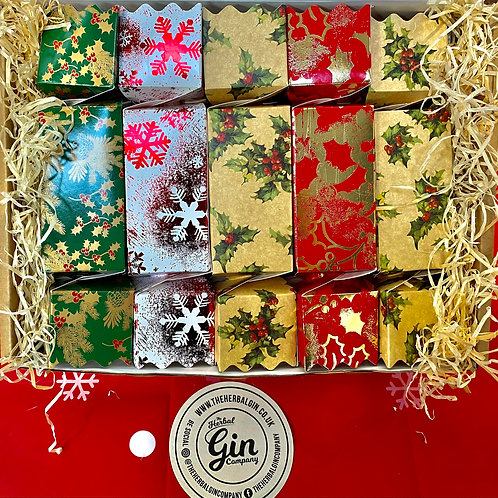 10x 5cl Christmas Gin Crackers